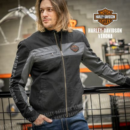 Giubbino Harley-Davidson® Canvas