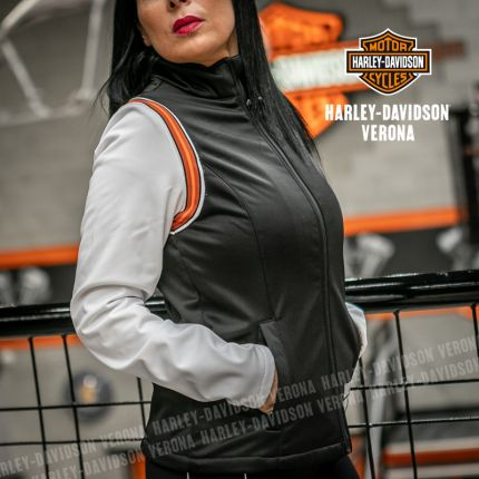 Giacca Harley-Davidson® Fleece Colorblock