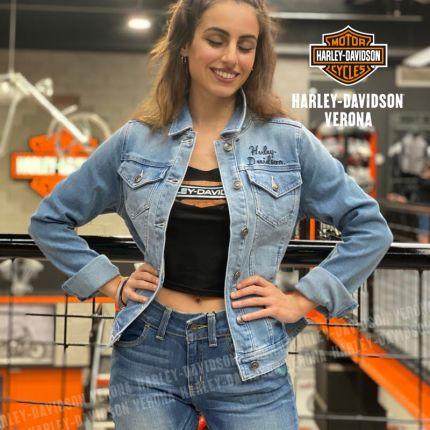 Giubbino Jeans Harley-Davidson® Winged Logo