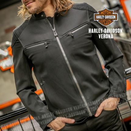 Giacca Harley-Davidson® 3D Mesh Accent Casual