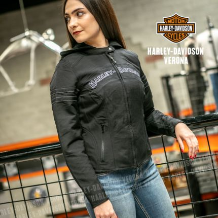 Giacca Harley-Davidson® Miss Enthusiast 3-in-1