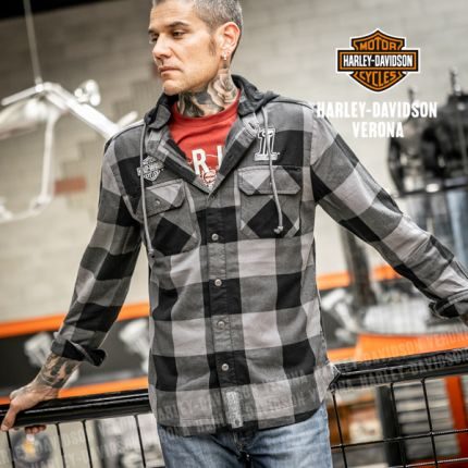 Camicia Harley-Davidson® Lined Hooded