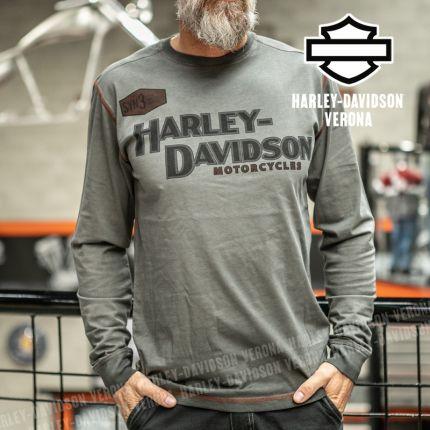 Maglia Harley-Davidson® Iron Block Grey