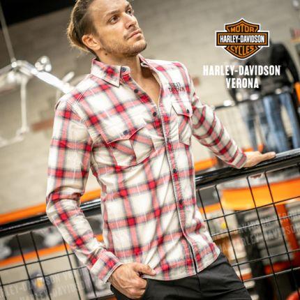 Camicia Harley-Davidson® Woven Plaid