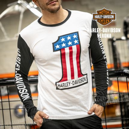 Maglia Harley-Davidson® #1 Colorblock