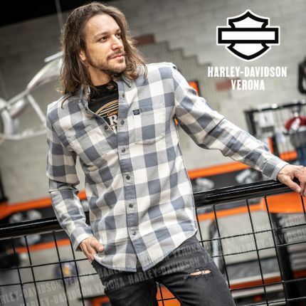 Camicia Harley-Davidson® #1 Logo Plaid