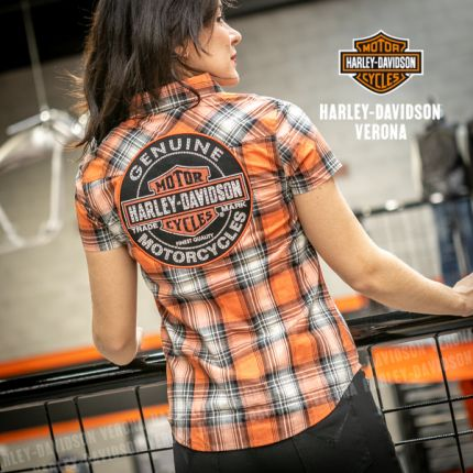 Camicia da Donna Harley-Davidson® GENUINE OIL CAN