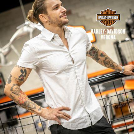 Camicia Harley-Davidson® Woven White