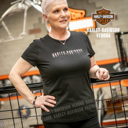 T-Shirt Harley-Davidson® Metallic Fade Graphic