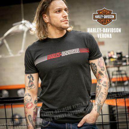 T-Shirt Harley-Davidson® Chest Stripe