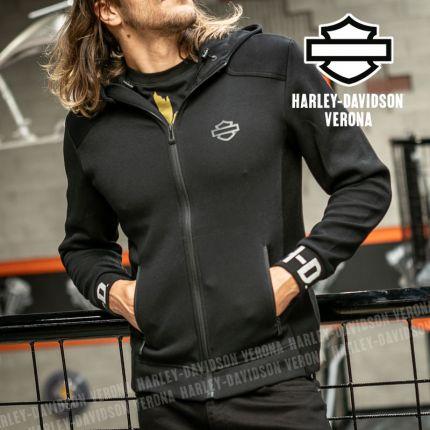 Felpa Harley-Davidson® Rib-Knit Side