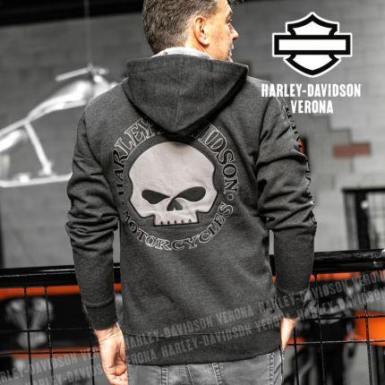 Felpa Harley-Davidson® Willy G Grey