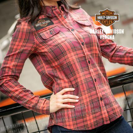 Camicia da Donna Harley-Davidson® LASER CUT LOGO