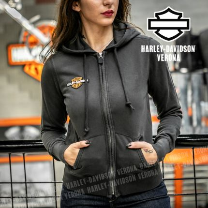 Felpa da Donna Harley-Davidson® Vintage Logo