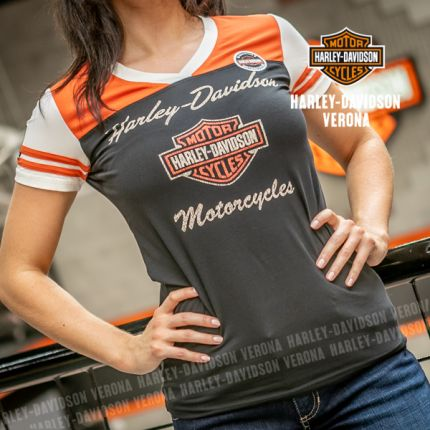 T-shirt Harley-Davidson® Colorblocked