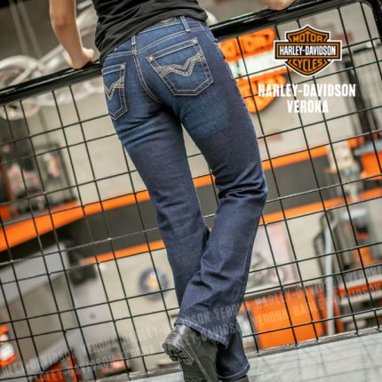Jeans scuri Harley-Davidson® Boot Cut