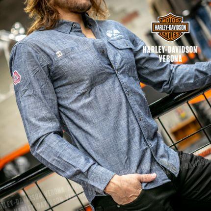 Camicia Harley-Davidson®  Retro Race Flag