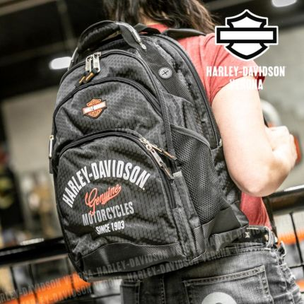Zaino Harley-Davidson® Tail Of The Dragon Black
