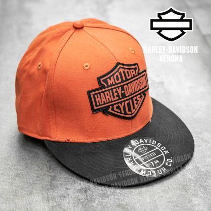 Cappellino Harley-Davidson® B&S Logo Orange