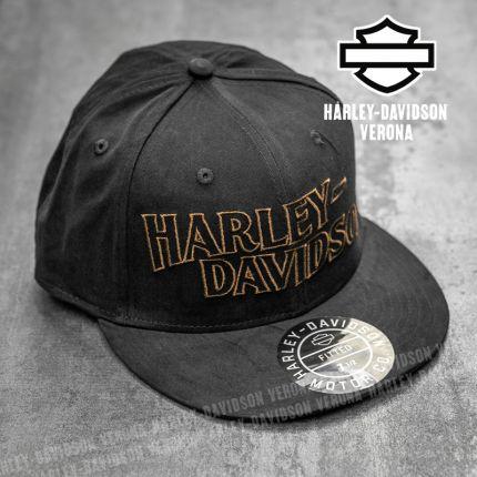 Cappellino Harley-Davidson® Embroidered Lettering