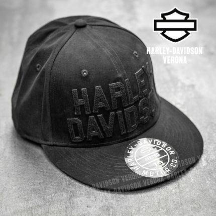 Cappellino Harley-Davidson® Woven Black