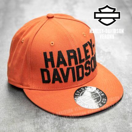 Cappellino Harley-Davidson® Block Orange