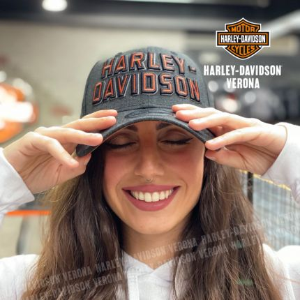 Cappellino Harley-Davidson® Embroidered Graphic