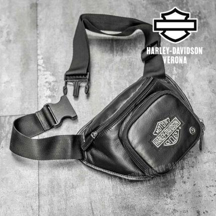 Marsupio in Pelle Harley-Davidson® B&S Logo