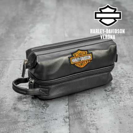 Bauletto Deluxe Harley-Davidson® Leather Toiletry Kit