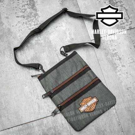Borsa a tracolla Harley-Davidson® Cross Body Gray