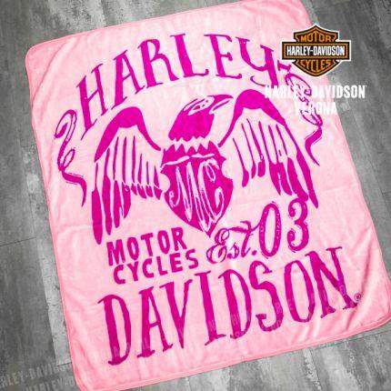 Coperta Harley-Davidson® Pink Symbolic
