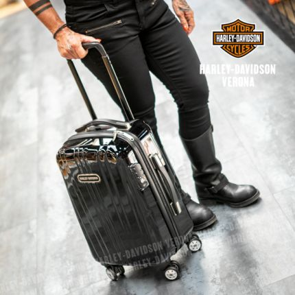 Trolley Harley-Davidson® Black Chrome Polycarbon