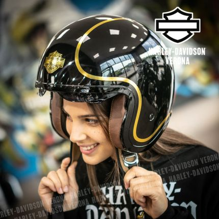 Casco 3/4 Harley-Davidson® Bougie Sun Shield