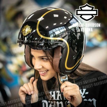 Casco 3/4 Harley-Davidson® Bougie Sun Shield