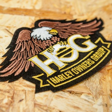 NEW PATCH H.O.G.® AQUILA PICCOLA NERA