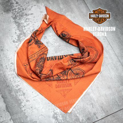 Bandana Harley-Davidson® Rusted Orange
