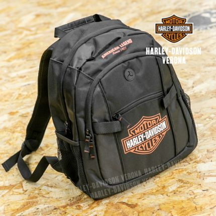 Zaino Harley-Davidson® Classic Blk & Orange