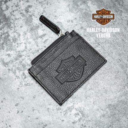 Portamonete Harley-Davidson® B&S Zip