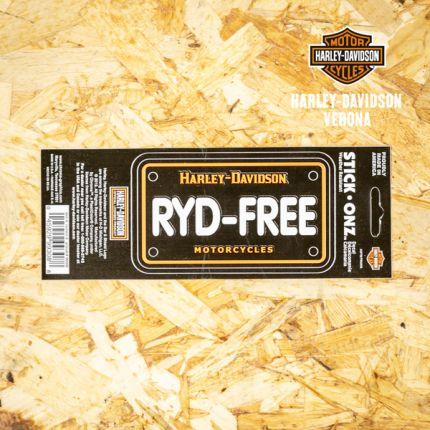 Adesivo Harley-Davidson® RYD-FREE
