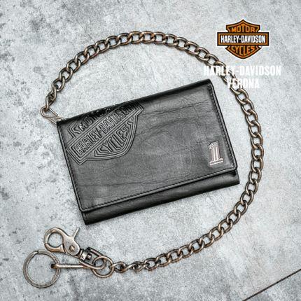 Portafoglio Harley-Davidson® Leather Biker