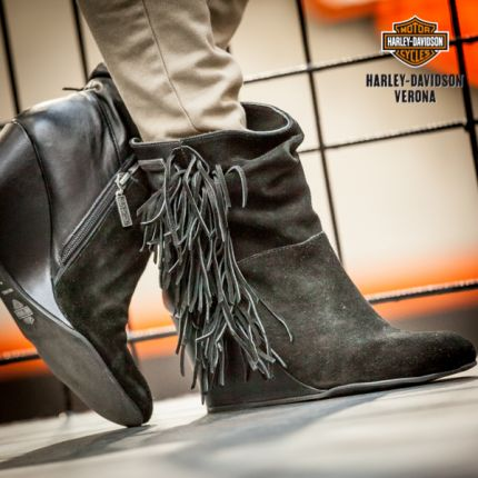 Stivaletto frange Harley-Davidson® Tybee