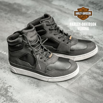 Sneakers in Pelle Harley-Davidson® Eagleson Waterproof