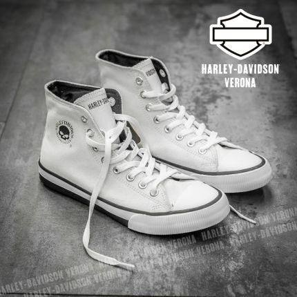 Sneakers Harley-Davidson® Baxter White