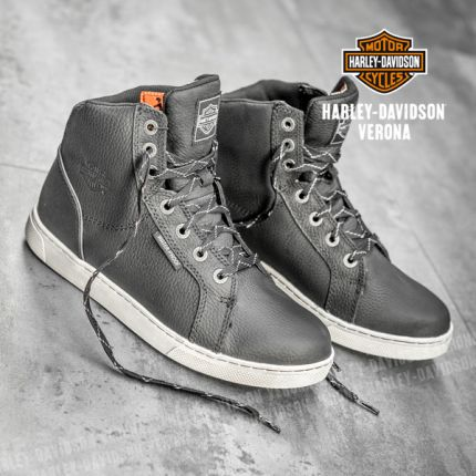 Sneackers Harley-Davidson® Midland Black Waterproof