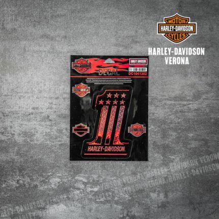 Adesivo Harley-Davidson® Number One