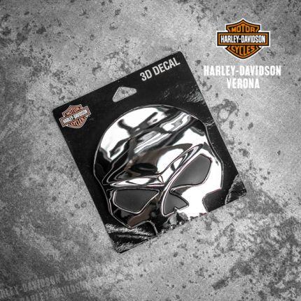 Adesivo Harley-Davidson® Skull 3D
