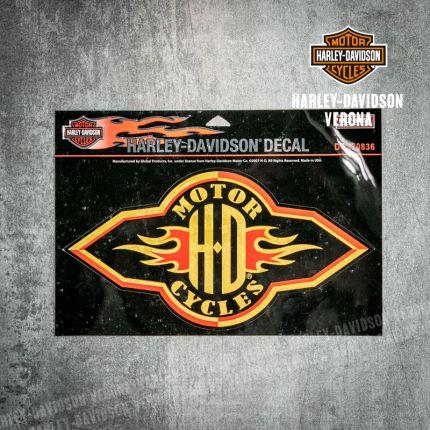 Adesivo Harley-Davidson® Logo Flame