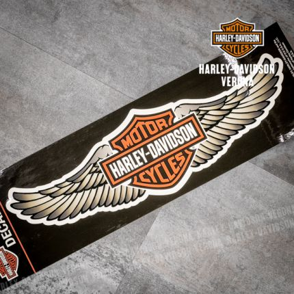 Adesivo Harley-Davidson® Straight Wings