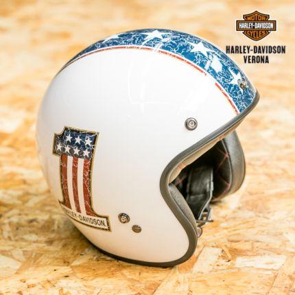 Retro 3/4 American Helmet