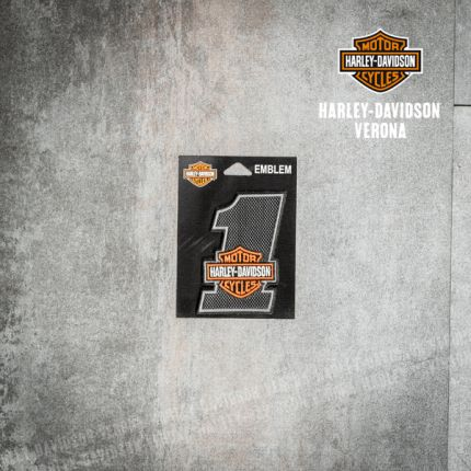 Patch Harley-Davidson® #1 Black